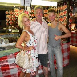 die Dancing-Stars Katrin Menzinger und Vadim Garbuzov