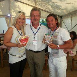Marlena Martinelli und Frankie Schinkels